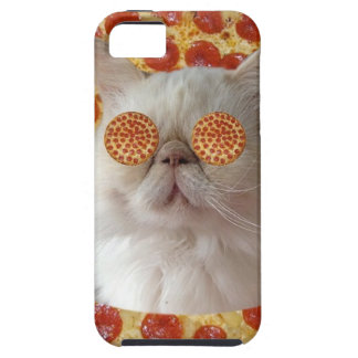 PIZZA KITTY CAT IPHONE 5/5S CASE