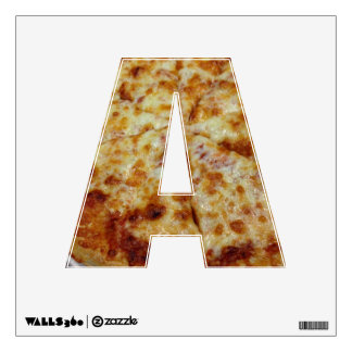 Pizza Letter Decal Wall Graphics