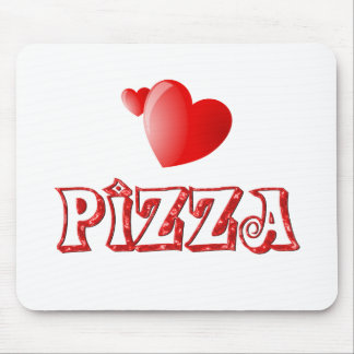 Pizza Love Mouse Pad