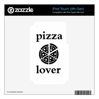 pizza lover iPod touch 4G decal