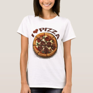 Pizza Lover's Hot Pepperoni Pizza Pie T-Shirt