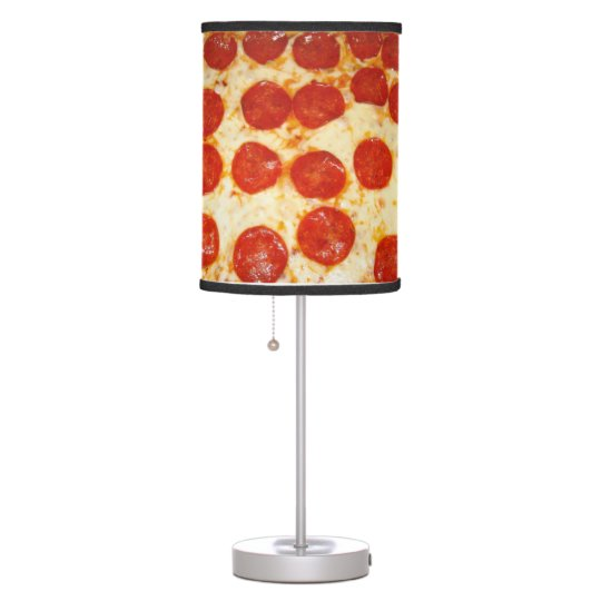 Pizza Lovers Table Lamp Zazzle Com
