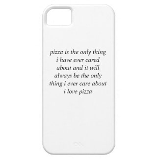 pizza luvin iPhone 5 cases