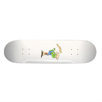 Pizza Maker Alien Skateboard Deck