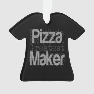 Pizza Maker Extraordinaire Ornament
