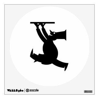 Pizza Maker Silhouette Wall Decal