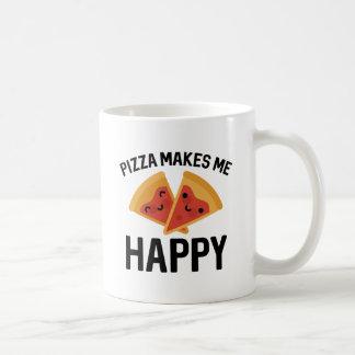 Pizza Makes Me Happy Coffee Mug