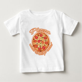 Pizza Makes the World Go Round Baby T-Shirt