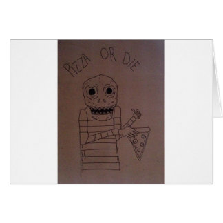 Pizza man card