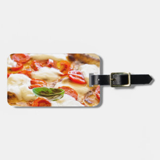 Pizza Margherita Bag Tag