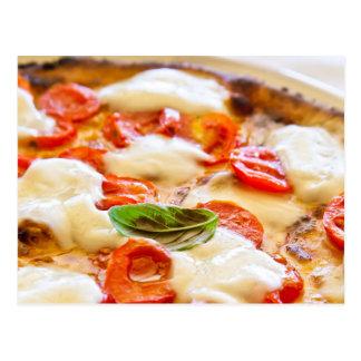 Pizza Margherita Tarjeta Postal