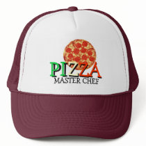 Pizza Master Chef Trucker Hat