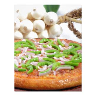 Pizza Membrete A Diseño