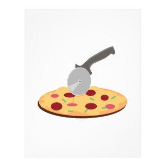 Pizza Membrete Personalizado