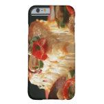 Pizza mezclada funda de iPhone 6 barely there