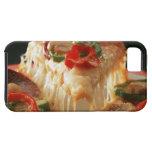 Pizza mezclada iPhone 5 carcasas