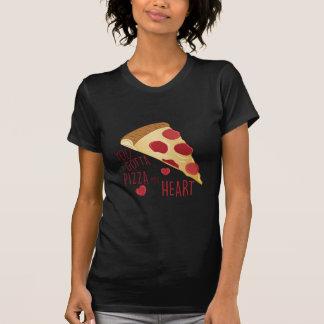 Pizza mi corazón remera