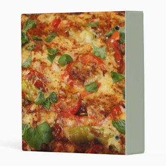 pizza mini binder
