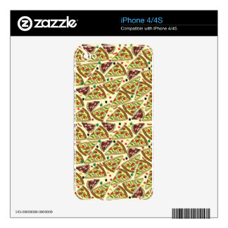 Pizza Mix Skin For iPhone 4S