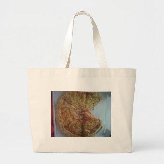 ..... Pizza Mmmmmmm Bolsa Tela Grande