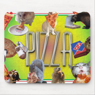 PIZZA MOUSE PAD