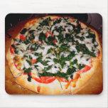 Pizza Mousepad de la espinaca