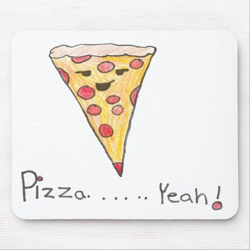 Pizza Mousepad Tapete De Ratón