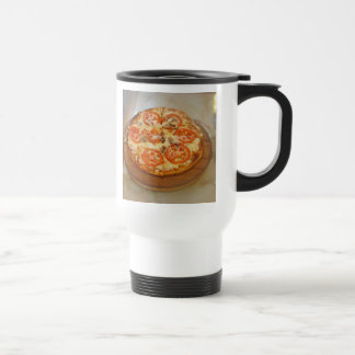 Pizza Nite 15 Oz Stainless Steel Travel Mug