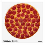 Pizza on the Wall decal