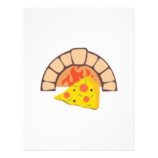 Pizza Oven Letterhead