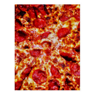 Pizza Painting Postcard