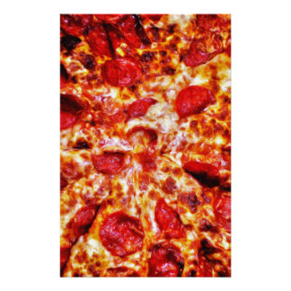 Pizza Painting Stationery