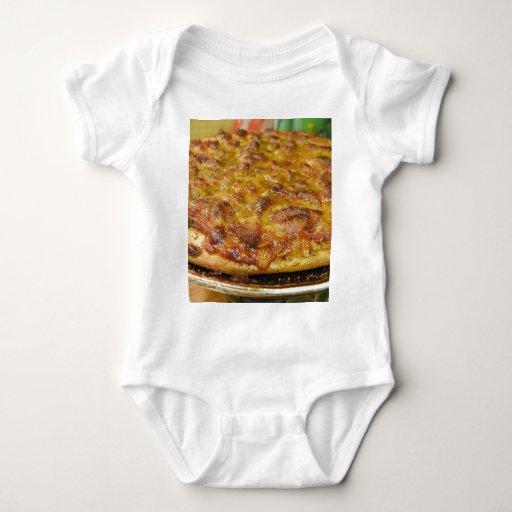 Pizza para la cena playeras