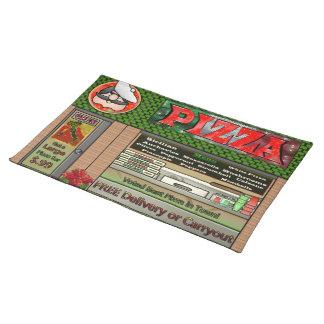 Pizza Parlor Placemats