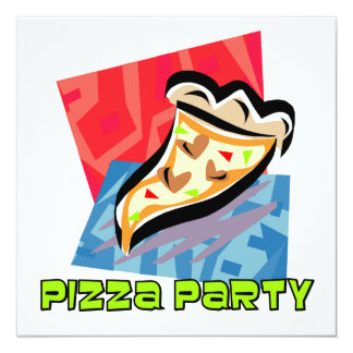 Pizza Party 1 Card