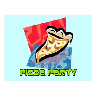 Pizza Party 1 Postcard