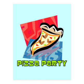 Pizza Party 1 Postcard