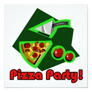 Pizza Party 2 Card