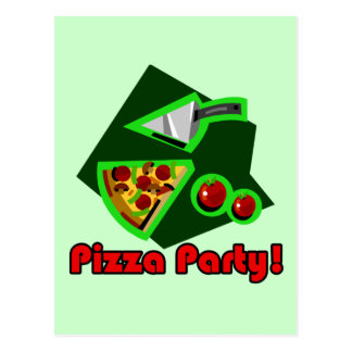 Pizza Party 2 Postcard