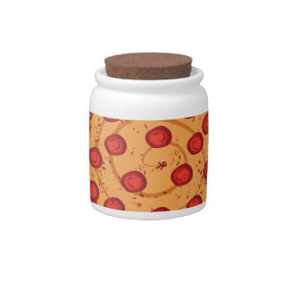 Pizza Party Candy Jar