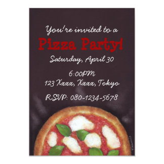 Pizza Party! Card