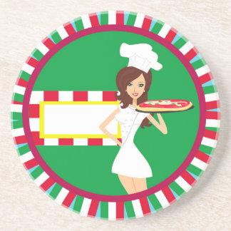 Pizza Party Coaster