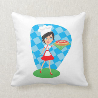 Pizza Party Cushion