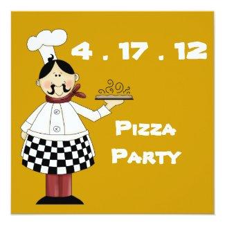 Pizza Party Invitation
