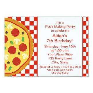 pizza party invitations  announcements  zazzle, Party invitations