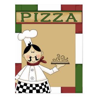 Pizza Party Invitation Postcard