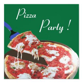 PIZZA PARTY, ITALIAN KITCHEN dinner, brunch,green Custom Announcements