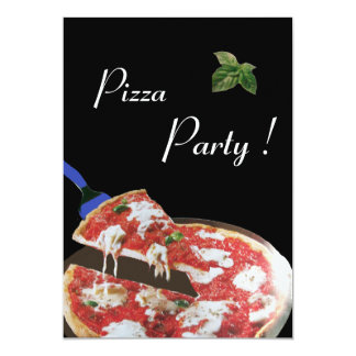 PIZZA PARTY, ITALIAN KITCHEN dinner, brunch Personalized Invitations