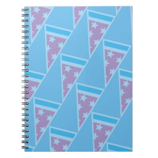Pizza Party Pattern Notebook
