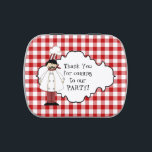 """Pizza Party Peppermint Party favors candy tin<br><div class=""""desc"""">design by Alice Smith at www.digiwebstudio.com back by yanna</div>"""